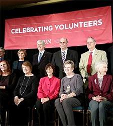 CSUN Volunteer Award for Cherry Henricks